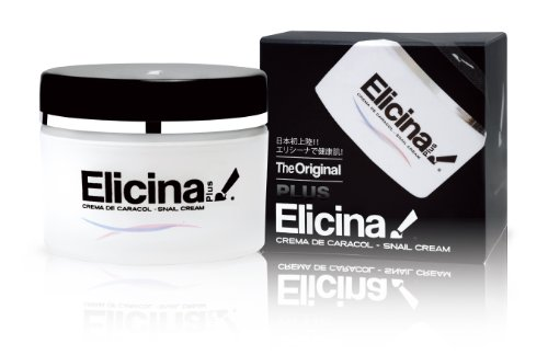 Elicina PLUS Crema de Caracol Snail Cream with Moisturizer 1.3 oz (40g)