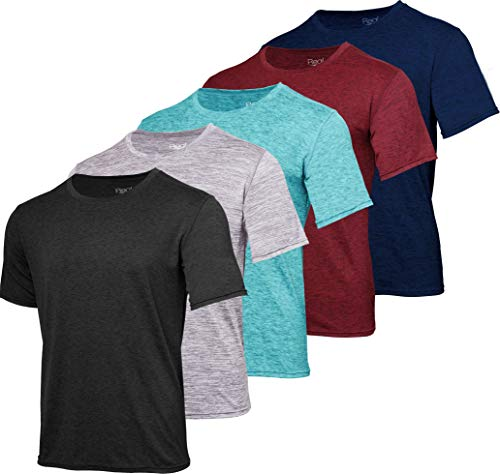 5 Men's Dry-Fit Shirts