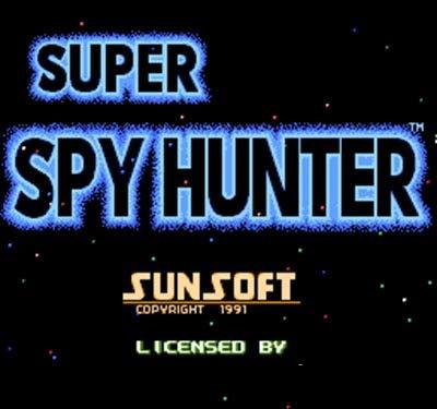 (The Crowd Tradensen Video Game Card Super Spy Hunter (u) 60 Pins 8 Bit Game Card)