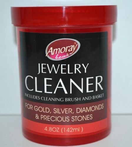 The Liquid Cleaner cleans,Jewelry Cleaner Solution Safely Clean all Jewelry Gold Silver & Diamonds Silver Jewelry Cleaner