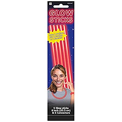 Red Glow Bracelets Party Accessory: Toys & Games
