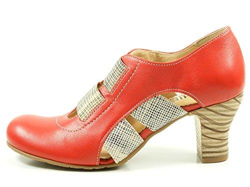 GHIBI A040 Womens Sandals Rot soAKEDwr