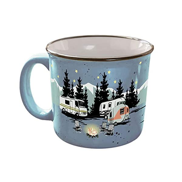 "This is the thumbnail for the category ""camping mugs"""