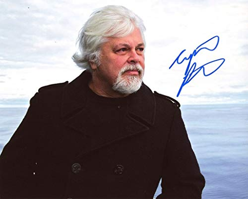 CAPTAIN PAUL WATSON - Sea Shepherd AUTOGRAPH Signed 8x10 Photo