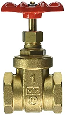 """Red-White Valve 1RW206AB Lead Free Commercial Gate Valve Threaded, 1"""" from Standard Plumbing Supply"""