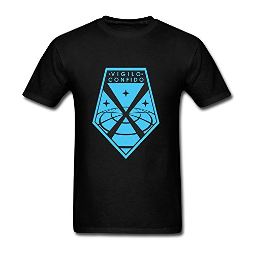 Men's XCOM II DIY Cotton Short Sleeve T Shirt