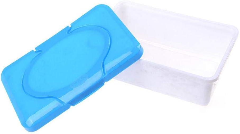 19.5 x 12.5 x 7.5cm chlius Caja de Toallitas para Beb/és Dispensador de Toallitas de Pl/ástico Caja de Toallitas H/úmedas con Tapa Ba/ños Salas De Estar Caja de Pa/ñuelos de Toallitas para Autom/óviles