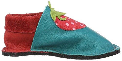 Enfant Pololo Fille Bébé Rot pour Erdbeere Chaussons Rouge Kiga SBwUIB6