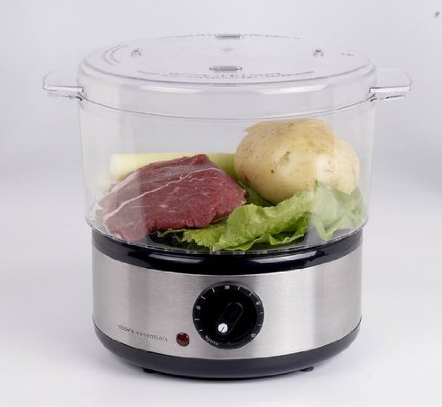 1-tier 2.5qt Diet Food Steamer, Cooker,Easy Use by Homeimage