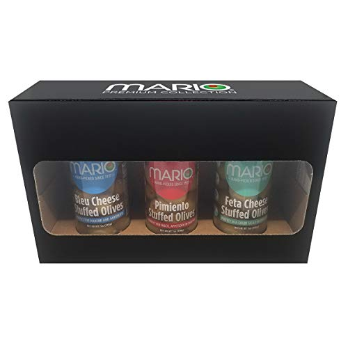 (Mario Camacho Stuffed Cheese Olives Gift Box)