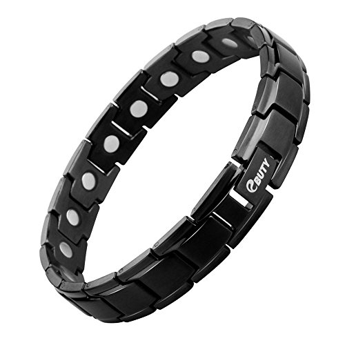 (EBUTY Magnetic Therapy Bracelet Men Golf Bracelet Pain Relief for Arthritis and Carpal)