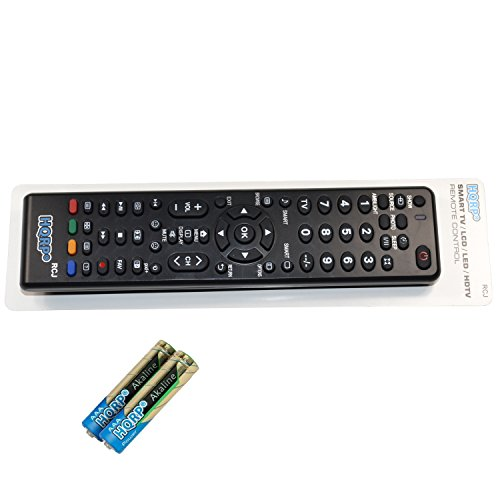 HQRP Remote Control Compatible with Philips 37PF7321D