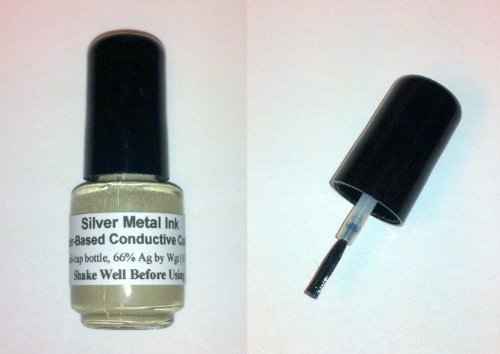 silver-metal-ink-conductive-water-based-coating-12-gram-66-ag-brush-cap-bottle-over-1-4-toz-silver
