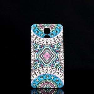 Teléfono Móvil Samsung - Cobertor Posterior - Gráfico/Diseño Especial - para Samsung S5 i9600 Plástico )