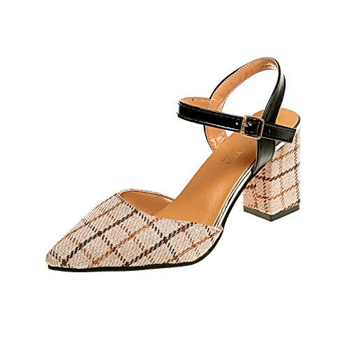 one Donyyyy Forty sandali sharp Baotou sandali femmina estate 0g0z8q