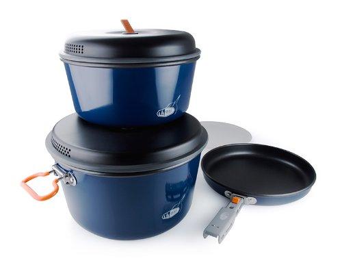 GSI Outdoors Bugaboo Base Camper Cook Set, Large, Outdoor Stuffs