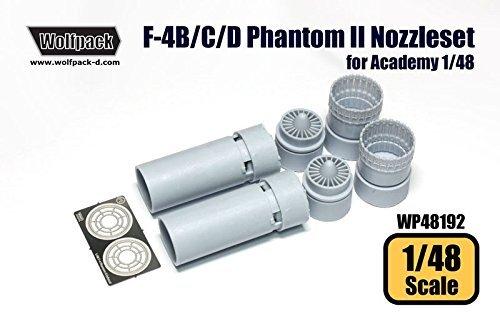 『1年保証』 ウルフパック1 : 48 F-4 B/ F-4 C B017CJCBBM C/ D/ N Phantom II j79エンジンノズルセットfor Academy # wp48192 B017CJCBBM, 大滝村:e0eec29d --- calloffice.com.tr