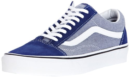 adulte Old School Tone Vans 2 mode Baskets U mixte Bleu Owqn86FS