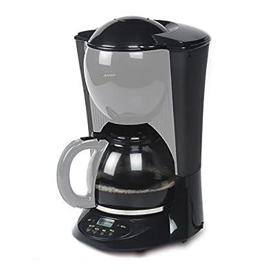 Machine à café 1,5L, Machine à Café avec minuteur + verseuse en verre–Couleurâ€
