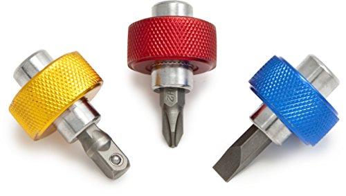 Titan Tools 11218 Finger Grip Drivers (3 Piece) - Finger Set Driver Socket