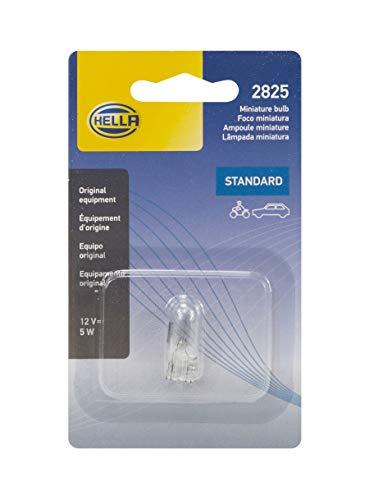 HELLA 2825SB Standard-5W Standard Miniature Bulb, Single