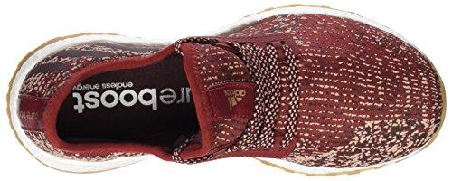 adidas Pureboost X All-Terrain, Zapatillas de Running Unisex Adulto Rojo (Mystery Red / Night Red / Tech Rust Metallic)
