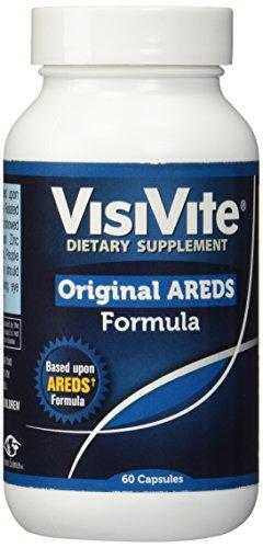 VENTE - VisiVite Original AREDS maculaire Dégénérescence oculaire Vitamine Formule 60 capsules