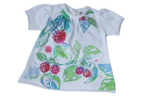 Itsus Baby-Girls Newborn Berry Patch Tee