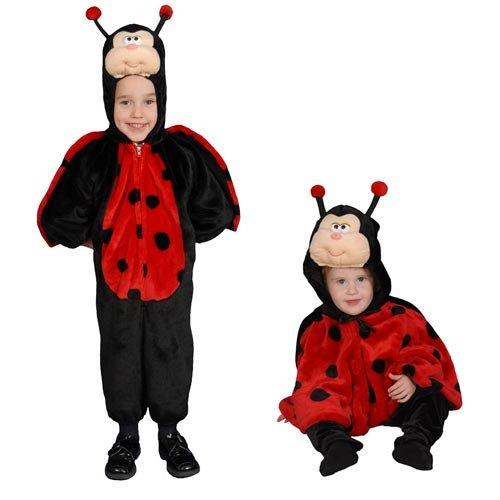 Cute Little Ladybug Costume Set - Size (Ladybug Cape Costumes)