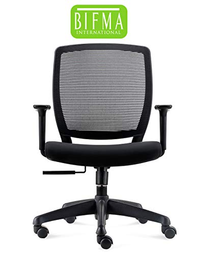 Chairlin Office Chairs Home Office Task Chair Ergonomic Computer Desk Chair Black