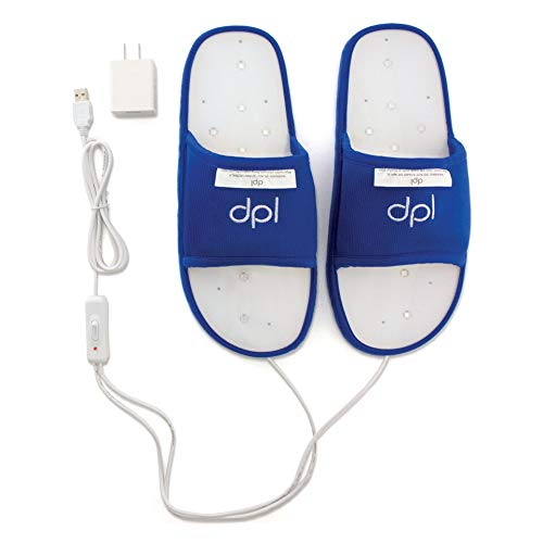 REVIVE LIGHT THERAPY DPL Slipper - Arthritis and Foot Pain Light Therapy (Large)
