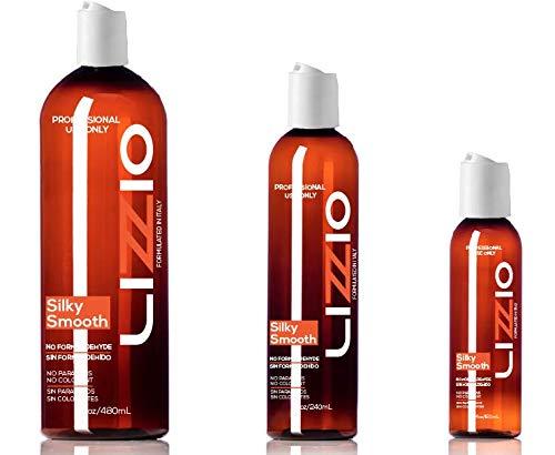Amazon.com : Keratin Hair Straightening Treatment Formaldehyde Free Organic No Animal Tested Frizz Free One Step Process (8 OZ) : Beauty