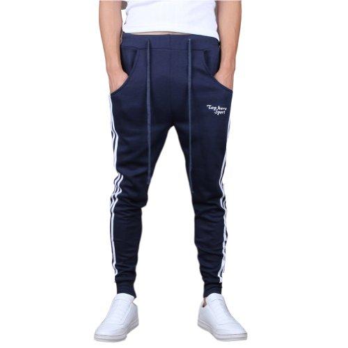 mooncolour-mens-casual-slim-fit-jogging-harem-pants-navy-m