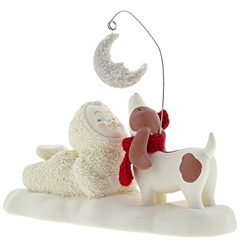 Department 56 Snowbabies By the Light of the Moon Porcelain Figurine, 5