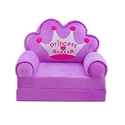 TOYANDONA Children Chair Cover Single Sofa Seat Cover Stuffed Chair Cover Storage Bean Bag Chair Cover for Kids Baby: Kitchen & Dining