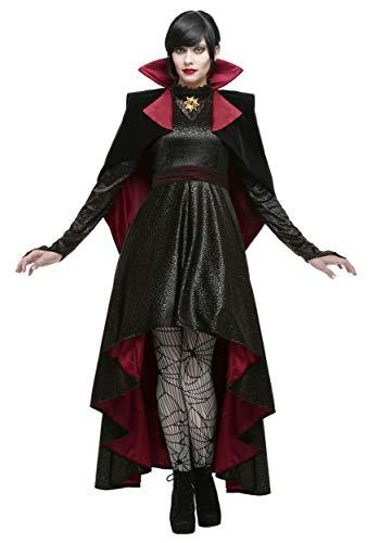 Vampire Vixen Costume Medium Black,Maroon ()