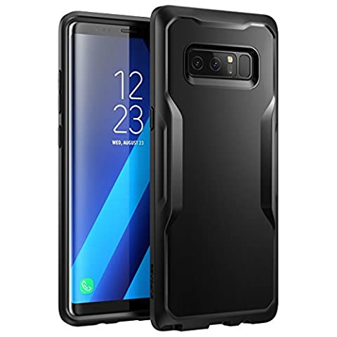 Samsung Galaxy Note 8 Case, SUPCASE Unicorn Beetle Series Premium Hybrid Protective Frost Clear Case for Samsung Galaxy Note 8 2017 Release, Retail Package (Galaxy Note 8 Bundle)