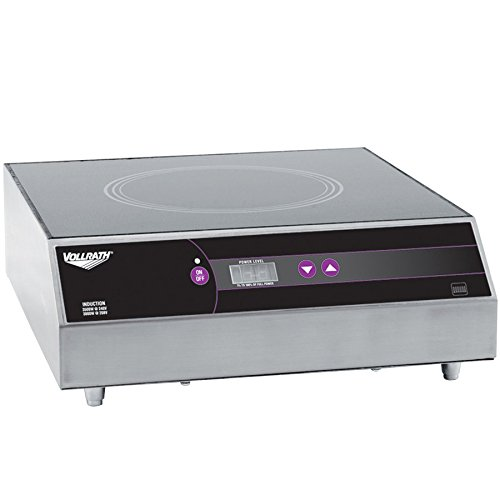 Ultra Series Induction Ranges (Vollrath 69504 Ultra Series Countertop Induction Range Cooker -)