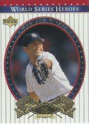 Upper Series Deck World (2002 Upper Deck World Series Heroes Baseball Card #87 Mariano Rivera Near Mint/Mint)