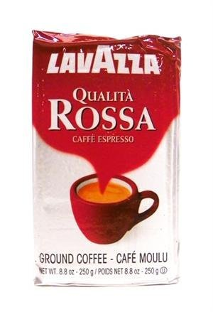 Lavazza Qualita Rossa, 8.8 oz Brick, Ground (20 Pack) by Lavazza