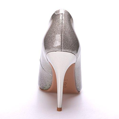 Korkokengät Zaproma Naiset Nainen Kengät Pumput Kultaa Häät Python qEgEOrBwx