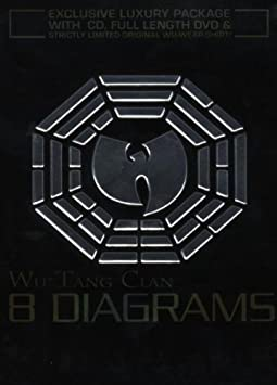 41Cla LpamL._SY355_ wu tang clan 8 diagrams special edition box set cd dvd by wu