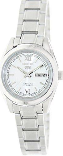 e1f65cb25 Seiko 5 #SYMK23K1 Women's Silver Dial Self Winding Automatic Watch ...