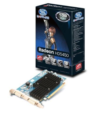 Sapphire HD5450 - Tarjeta gráfica (PCI-e, Memoria de 1 GB GDDR3 ...
