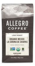 Allegro Coffee Organic Mexico Ground Coffee, 12 oz