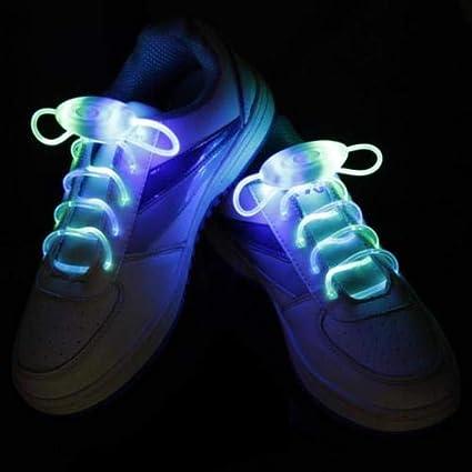 9aa95570858a BLagenertJ LED Flash Luminous Light Up Glow Strap Shoelace Shoe Laces Party  Disco Decor for Sneaker