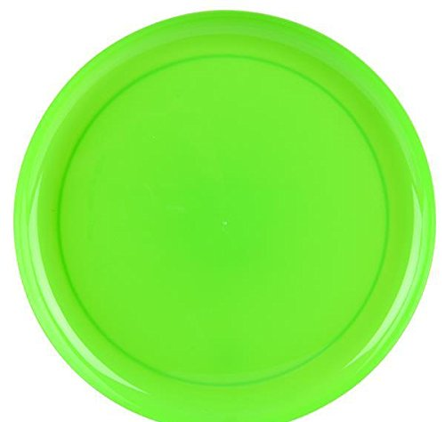 9'' GREEN BREAK-A-PLATE, Case of 2 by DollarItemDirect