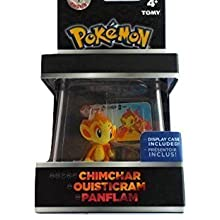 Pokemon Trainer's Choice Chimchar mini figure w/ display case by TOMY