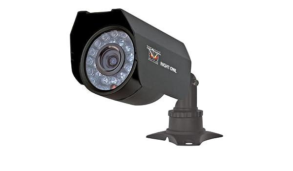 NIGHT OWL CAM-CM01-245A CCTV security camera Interior y exterior Bala Negro 510 x 492Pixeles: Amazon.es: Electrónica