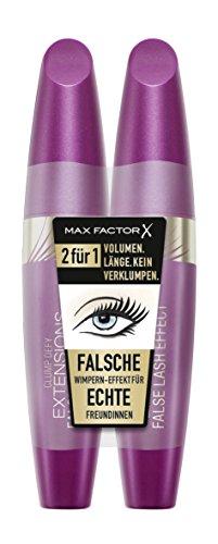 Max Factor Clump Defy Extensions Mascara schwarz, 2er Pack (2 x 13 g)